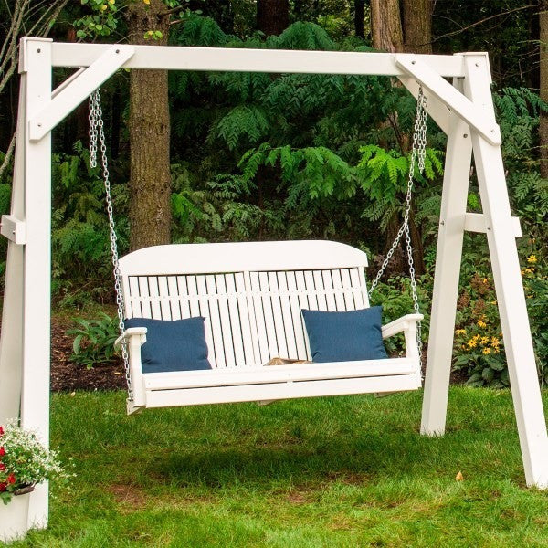 4′ Classic Swing, Outdoor Furniture, Luxcraft - Danny Vegh's