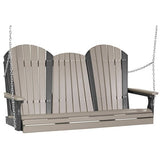 5′ Adirondack Swing, Outdoor Furniture, Luxcraft - Danny Vegh's