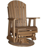 2′ Adirondack Swivel Glider, Outdoor Furniture, Luxcraft - Danny Vegh's