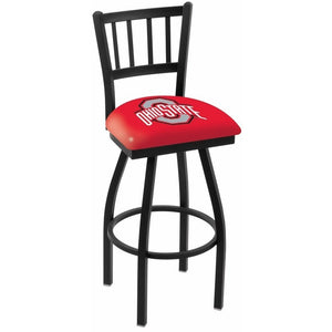 L018 Ohio State University Logo Bar Stool, Kitchen and Bar Stool, Holland - Danny Vegh's