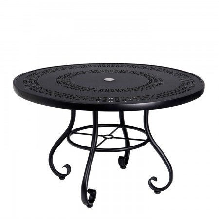"Ramsgate 48"" Round Dining Table with Trellis Top"
