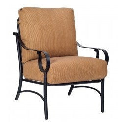 Ridgecrest Cushion Lounge Chair, Outdoor Furniture, Woodard - Danny Vegh's