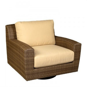 Saddleback Swivel Lounge Chair, Outdoor Furniture, Woodard - Danny Vegh's
