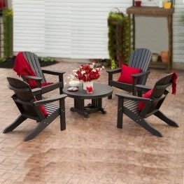 "32"" Round Conversation Table - Danny Vegh's - Outdoor Furniture - Breezesta - 2"