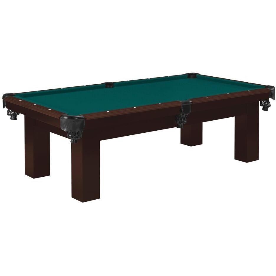 The Clevelander 8' Pool Table with Oak, Pool Tables, Danny Vegh's - Danny Vegh's