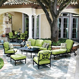 Isla Ottoman, Outdoor Furniture, Woodard - Danny Vegh's