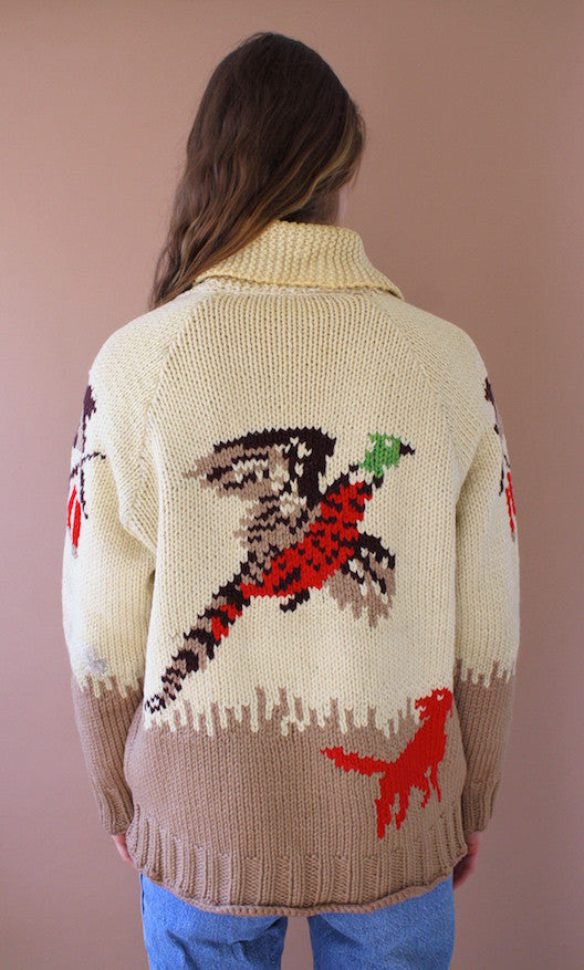 Duck Hunting Chunky Knit