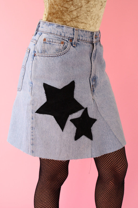 LTV Denim on Denim Skirt (Size M)