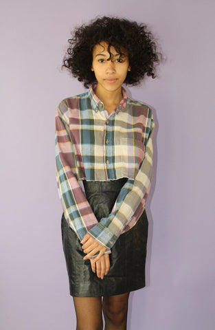 LTV Cropped Flannel