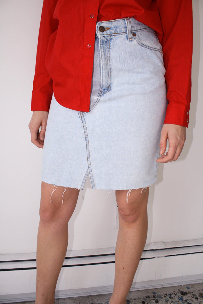 LTV Denim Skirt (Size M)