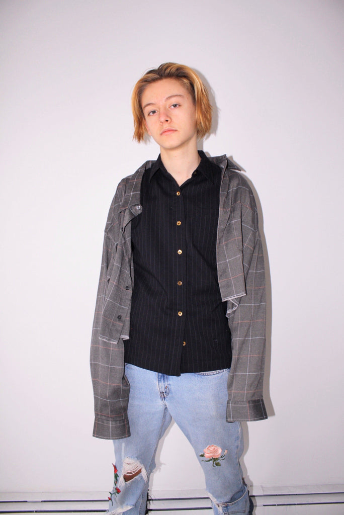 LTV Cropped Flannel (One Size Fits Most)