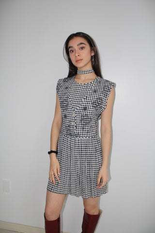 LTV Picnic Dress and Choker Neck Tie