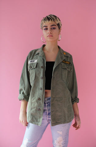 Army Shirt Jacket (Unisex M)