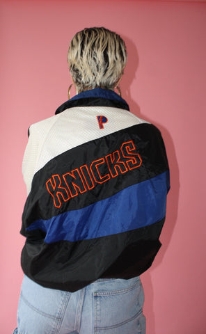 Knicks Windbreaker (Unisex L)