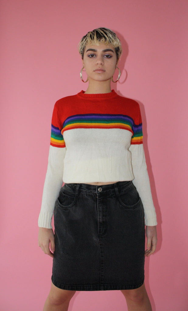 Rainbow Sweater (Women S/M)