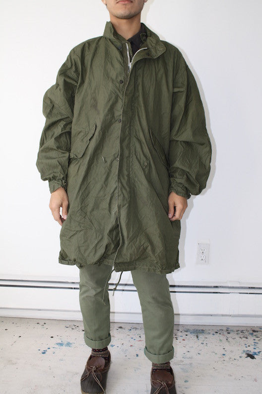 The Army Long Jacket  ( Men size S )