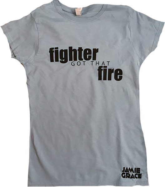 "Jamie Grace - ""Fighter"" T-Shirt"