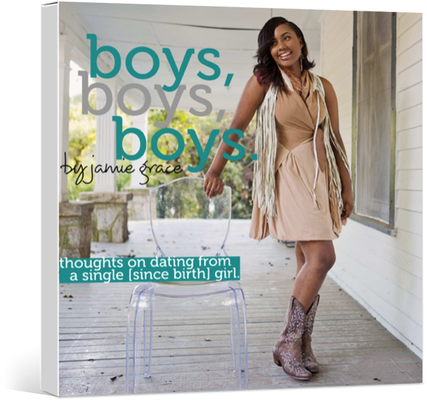 Boys, Boys, Boys: A Book by Jamie-Grace