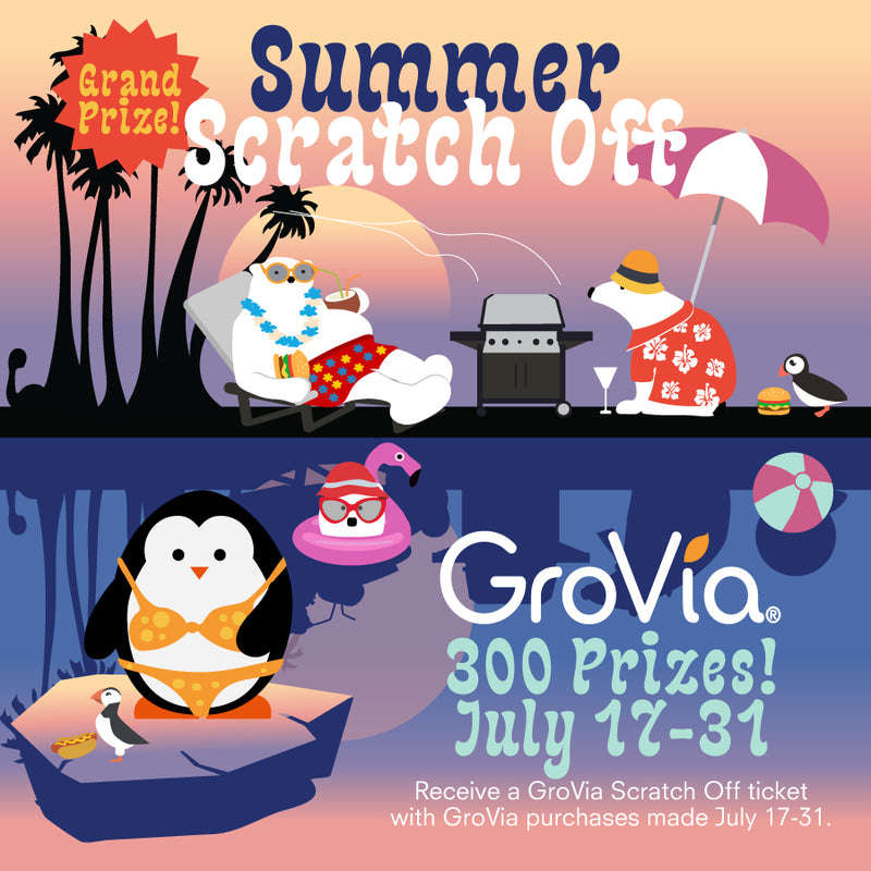 GroVia Summer Scratch Off Promo!