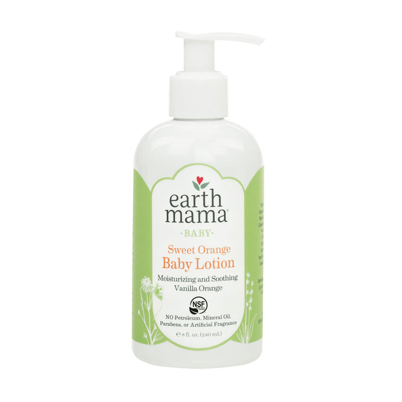 Earth Mama Organics Baby Lotion, 240 ml