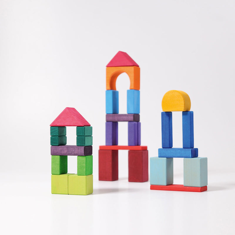 Grimm's Geometrical Blocks, 30 pcs