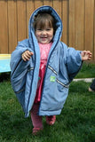 Baby Parka Toddler Coat/ Poncho