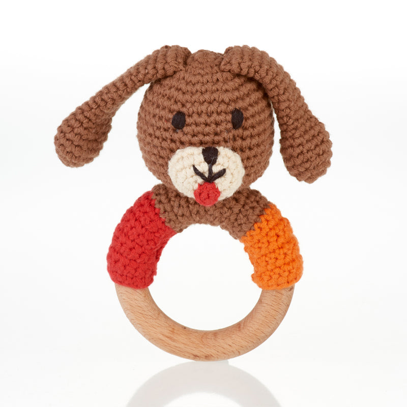Pebble Wooden Teething Ring