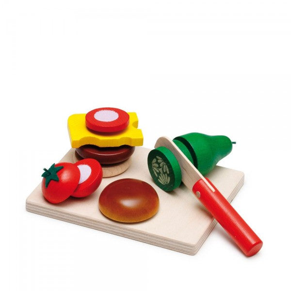 Ezri Cheeseburger Cutting Set