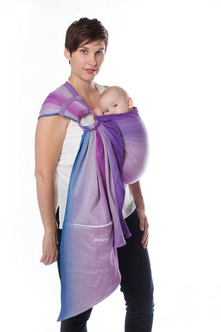 Chimparoo Ring Sling, Pleated Shoulder