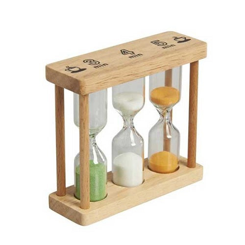 Gluckskafer Small Wooden Hourglass