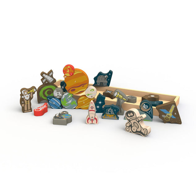 Begin Again Space A-Z Puzzle & Playset