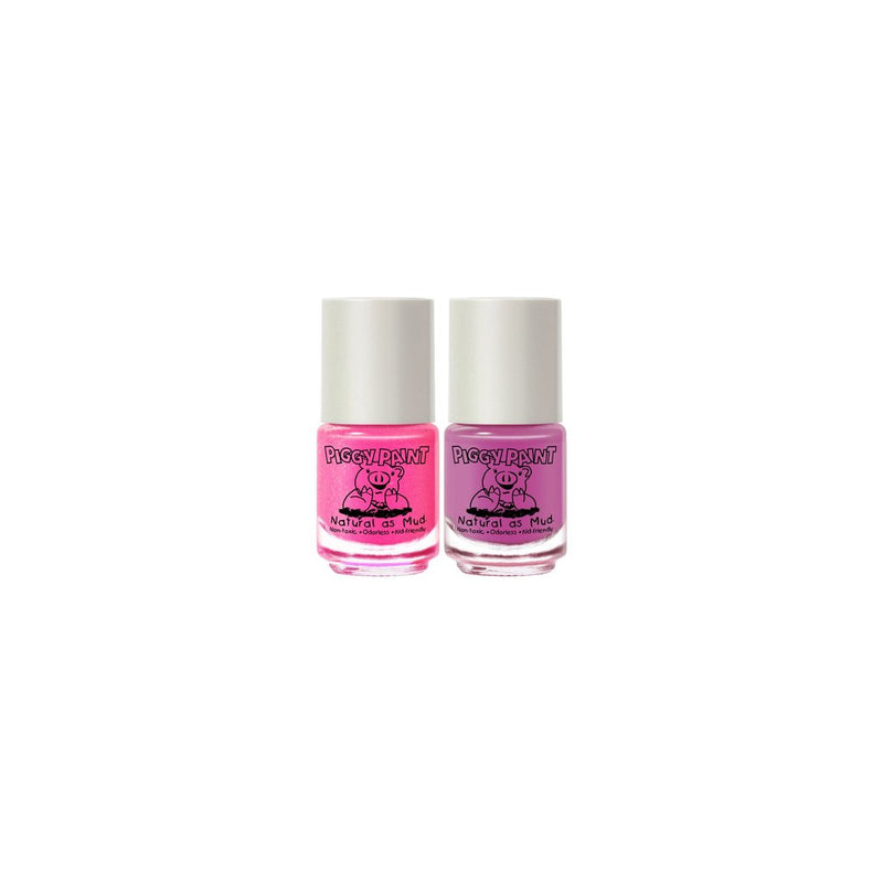 Piggy Paint 2 Polish + Remover Polish Set
