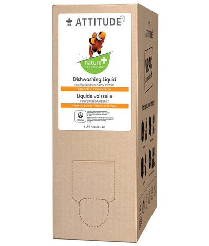 Attitude Dishwashing Liquid - Citrus Zest