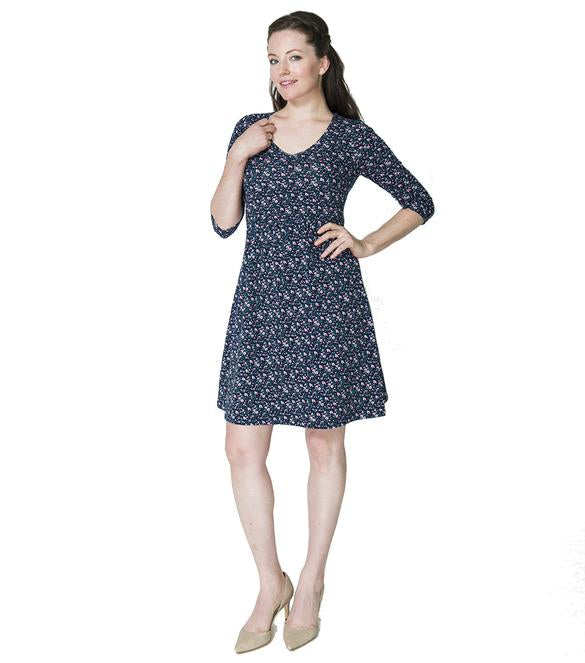 Momzelle Maternity/Nursing Dress KATE