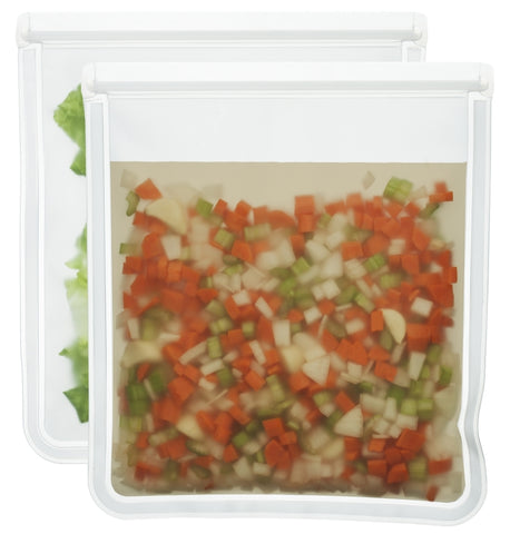 1 Gallon (re)zip Food Storage Bags (2-pack)