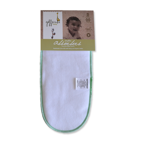 Geffen Baby Super Absorbers, 3 pack