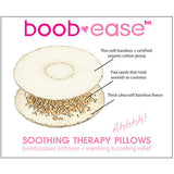 Boob-ease Therapy Pillows + Free Pair of Regular Bamboobies
