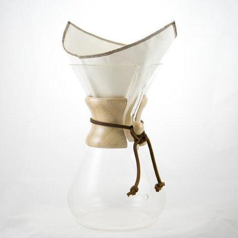 CoffeeSock Chemex 6 Cup Filters  - Pack of 2