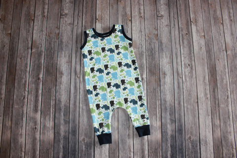 AppleCheeks Inspired Harem Coveralls/ Rompers