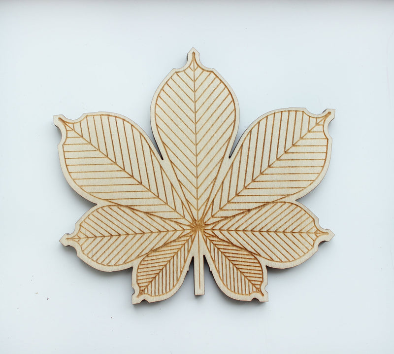 Leaf Wooden Puzzle 1 (24 elements)