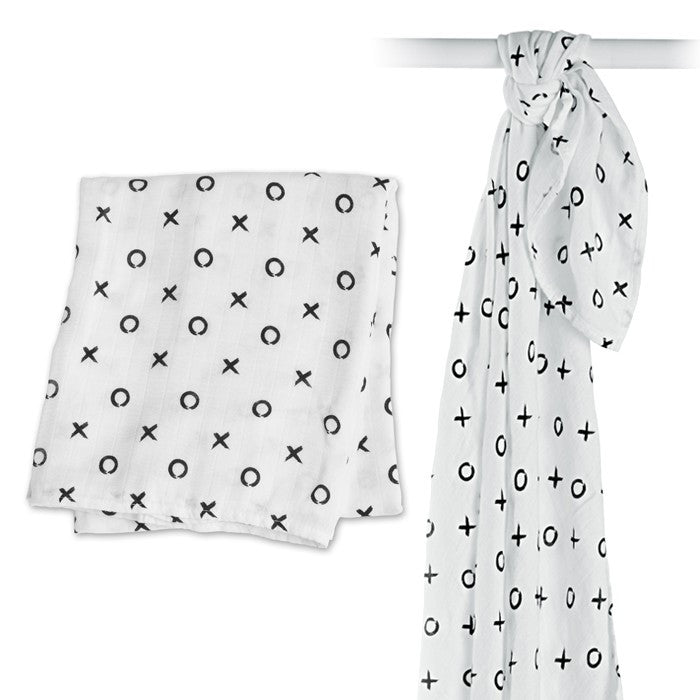 Lulujo Bamboo Modern Collection Swaddle Blankets