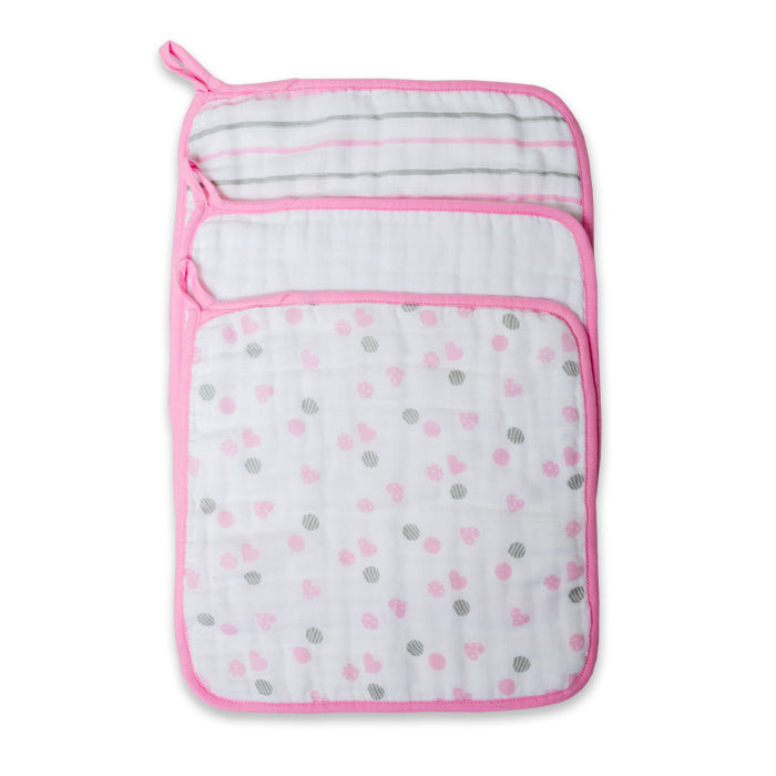 Lulujo Muslin Wash Cloths