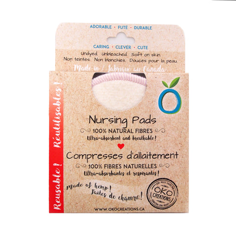 Oko Creations Hemp Nursing Pads
