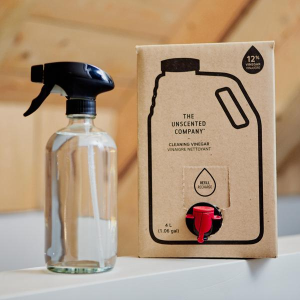 The Unscented Company Concentrated Cleaning Vinegar, 12% Refill  *For local pick up only*