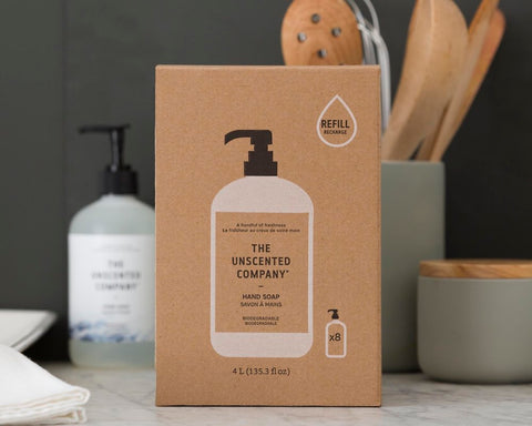 The Unscented Company Hand & Body Soap Refill