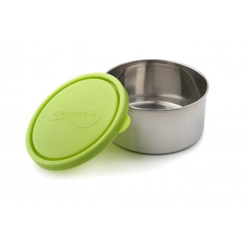 U Konserve 8oz Green Round Food Container - Single