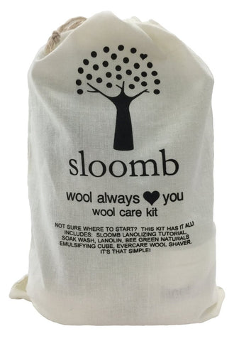 Sloomb Wool Always Love You Wool Care Kit