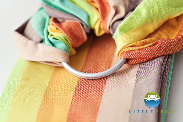 Little Frog Cotton Ring Sling
