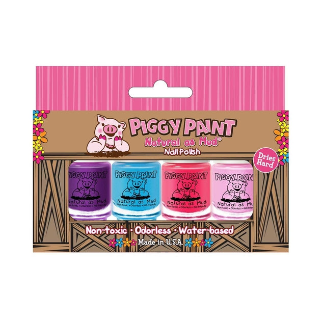 Piggy Paint 4 Mini Polish Set