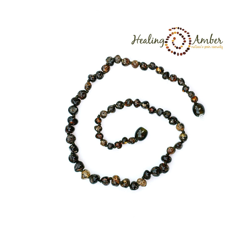 "Adult Healing Amber Necklace (17.5"" - 18"")"